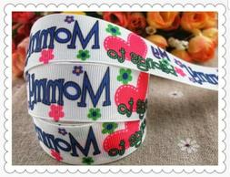 "1"" 2 YARDS Mommy Grosgrain Ribbon Gift Wrap Scrapbooks Craft"