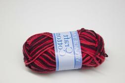 1 Skein Village Yarn Craft Cotton Color 0190015041 Red / Bur