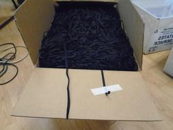 """10 YARDS 1/4"""" FLAT BLACK ELASTIC BAND FOR DIY FACE MASK BEST"""