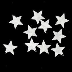 10Pcs 21x21mm Acetate sheet Stars Charms Earring Bracelet fo