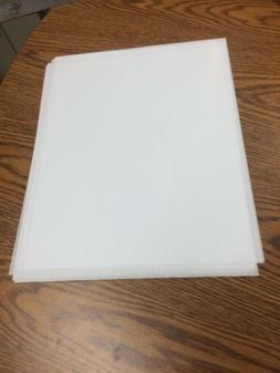 11 x 14 Acetate Clear Plastic Sheets .005 Thick 10 Sheets Lo
