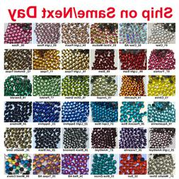 1440 pcs DMC Iron On Hotfix Crystal Rhinestones Colors SS6 S