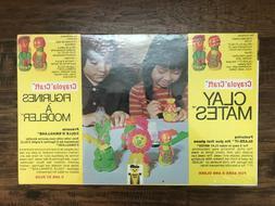 """1978 Vintage """"CRAYOLA CRAFT""""  Children's Art Set, NEW! SEALE"""