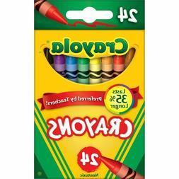Crayola Kids Color Crayons 24 Ct