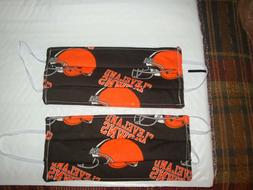 2 Homemade Mask Items For The Home Clev. Browns Football The