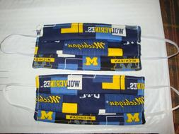 2 Homemade Mask Items For The Home U.M. Michigan Football Th