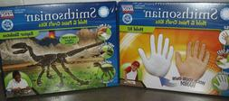 2 SMITHSONIAN MOLD AND PAINT CRAFT KITS Mold Your Hand / Rap
