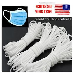 21 yards Round Elastic Band Cord Ear Hanging Sewing For Face