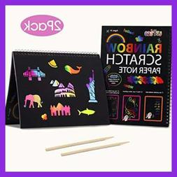 3 10 Year Old Girls Gifts Arts & Crafts For Age RAINBOW Scra