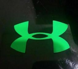 3 Pcs Neon Green 5CM Under Armour Iron-On LOGO DIY T-Shi