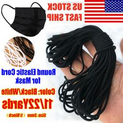 3mm Round Elastic Band Cord Ear Hanging Sewing Crafts DIY 10
