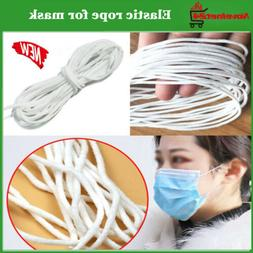 3mm Round Elastic Rope Band Cord Ear Hanging Tape DIY Sewing