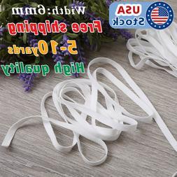 5-10 Yards Length Braided mask Elastic Band Cord Knit Band S
