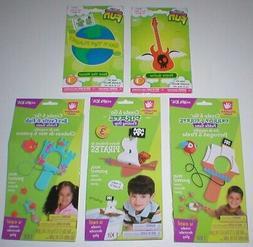5 Fibre Craft Creative Hands & Darice Fun Easy Foam Craft Ki