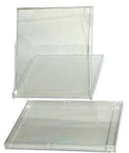 5 Jewel Boxes - Calendar Boxes - Clear Standard Empty MSBS10