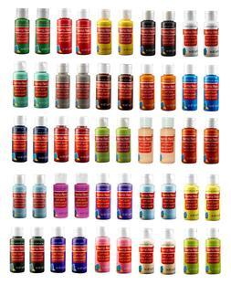 Acrylic Paint Set For Kids & Adults 50 Bottles 25 Colors Art