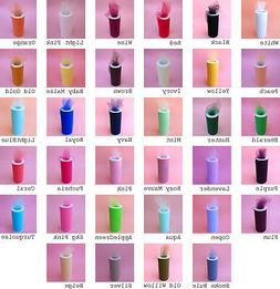 """6""""X25YDS Tulle Spool Wedding Bridal Party Favor Decoration T"""