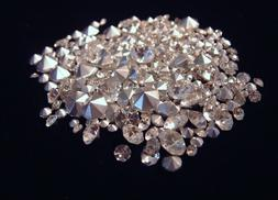 75 CRYSTAL CLEAR RHINESTONES MIXED SIZES CRAFTS JEWELRY REPA