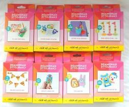 8pc lot Kids Crafts Kits Party Favors Handmade Charlotte Fin