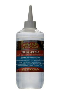 Hot Wire Foam Factory StyroGoo Adhesive Remover, 8.5-Ounce