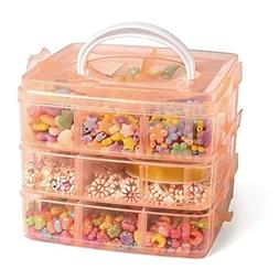 Ultimate Jewelry Making Bead Kit - Includes Storage Box and