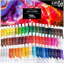Acrylic Paint Set Vibrant Color Rich Pigments Beginner Stude