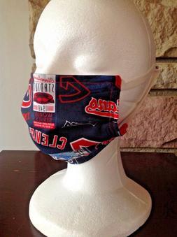Adult Face mask Cleveland Indians Cotton reusable washable