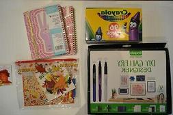 Art Supplies Crayons Yoobi Planner Lion King Stationery DIY