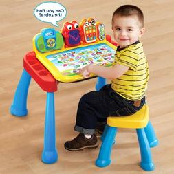 Art Table For Kids Play Desk Activity Crafts Chair Learning