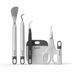 Cricut Basic Tool Set Spatula,Weeder,Scraper,Scissors,Tweeze