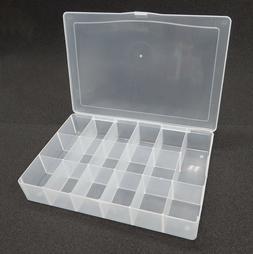 Darice Bead Craft Organizer Plastic Containers 17 Compartmen