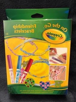 Brand new Crayola on the go Friendship bracelet kit kids cra