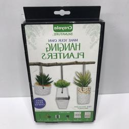 Brand New Crayola Signature Hanging Planter Kit - Quick And