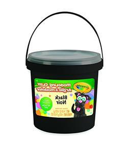 Crayola 1 lb  Bucket Black Modeling Clay, Net 14.8 oz.