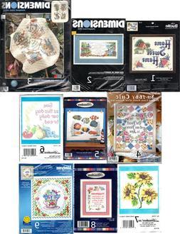 CHOICE: Stamped Cross Stitch Needlework Kits by Bucilla •