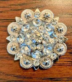 Choncos Rhinestone Set of 4 All Clear Crystal Burst Large  B
