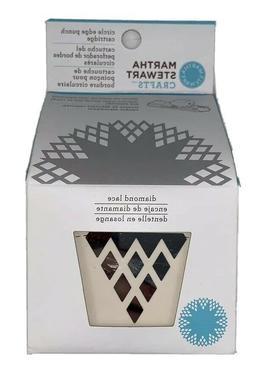 Martha Stewart Circle Border Cartridge-Diamond Lace