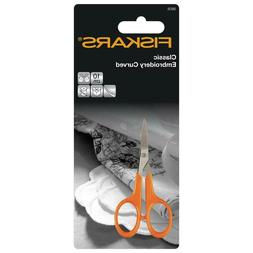 Fiskars Classic Curved Embroidery Scissors Sharp Point Nail