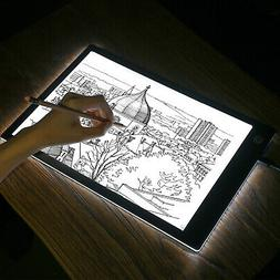 A4 USB LED Artist Tattoo Stencil Board Light Box Tracing Dra