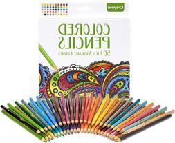 Crayola Colored Pencils Adult Coloring Fun At Home Crafts Ki