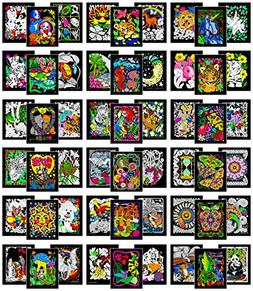 Colossal Pack of 54 Fuzzy Velvet 8x10 Inch Posters Stuff2Col