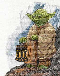 Counted Cross Stitch Kit ~ Dimensions Star Wars - Yoda #70-3
