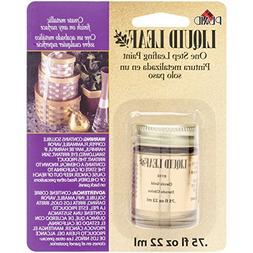Plaid 6110 :Craft Liquid One Step Leafing Paint, 0.75-Ounce,