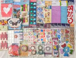 Crafts & Stickers for Kids Girls Lot of 35 Items Jolee's Sti