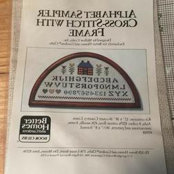 Better Homes And Gardens Crafts kit  Alphabet Sampler