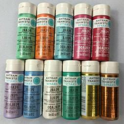 Martha Stewart Crafts Multi-Surface Paint Set 11 Count Metal