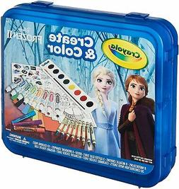 Crayola Frozen 2 Art Set, Arts and Crafts, Gift for Kids, Ag