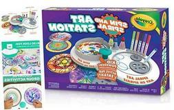 Crayola Spin & Spiral Art Station, DIY Crafts, Toys for Boys