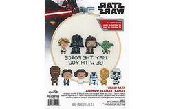 """Dimensions Cross Stitch Kit 6""""Star Wars Family"""