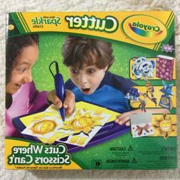 Crayola Cutter Wand and Cutter Mat Sparkle Crafts Set Cuts W